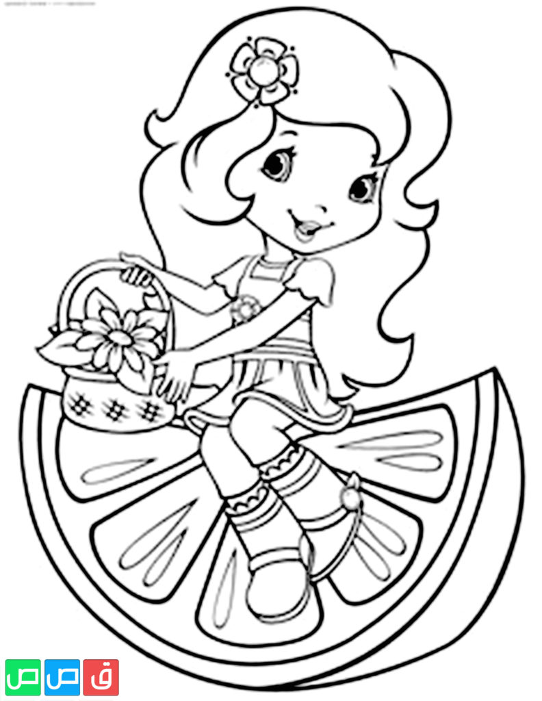 رسومات للتلوين للبنات أكثر من مائة صورة جاهزة للطباعة قصص اطفال Strawberry Shortcake Coloring Pages Cartoon Coloring Pages Coloring Pages