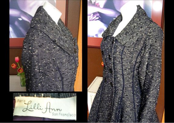 Reserved 25 OFF RARE 1940s LILlI Ann by WestCoastVintageRSL, $350.00