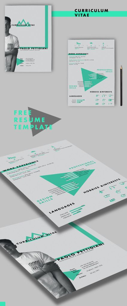 70 Well-Designed Resume Examples For Your Inspiration Creative