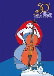 #cervofestival In occasione della 50esima edizione del Festival Internazionale di Musica da Camera di #Cervo il grande Francesco Tullio #ALTAN - l'ideatore della cagnolina Pimpa - ha disegnato un'immagine dedicata #Liguria #illustrazioni #chitarra