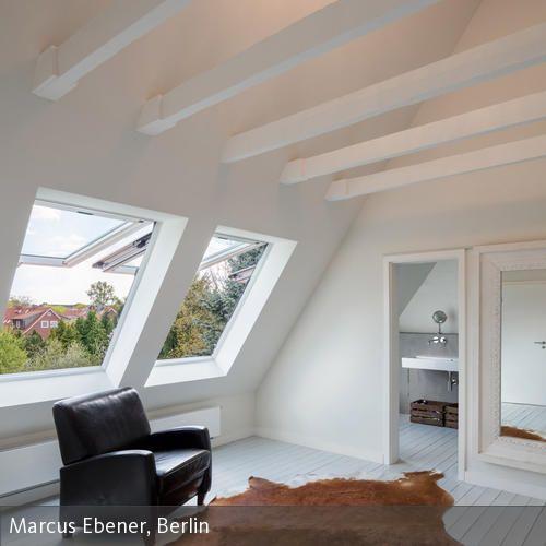 HAUS M HAMBURG Haus, Dachgeschossausbau, Schlafzimmer