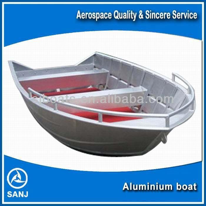 Cheap Aluminium Lightweight Fishing Boats For Sale 1300