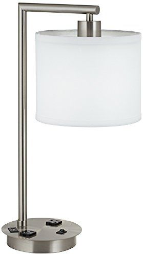 Best Table Lamps With Power Outlets Office Decor Ideas Table