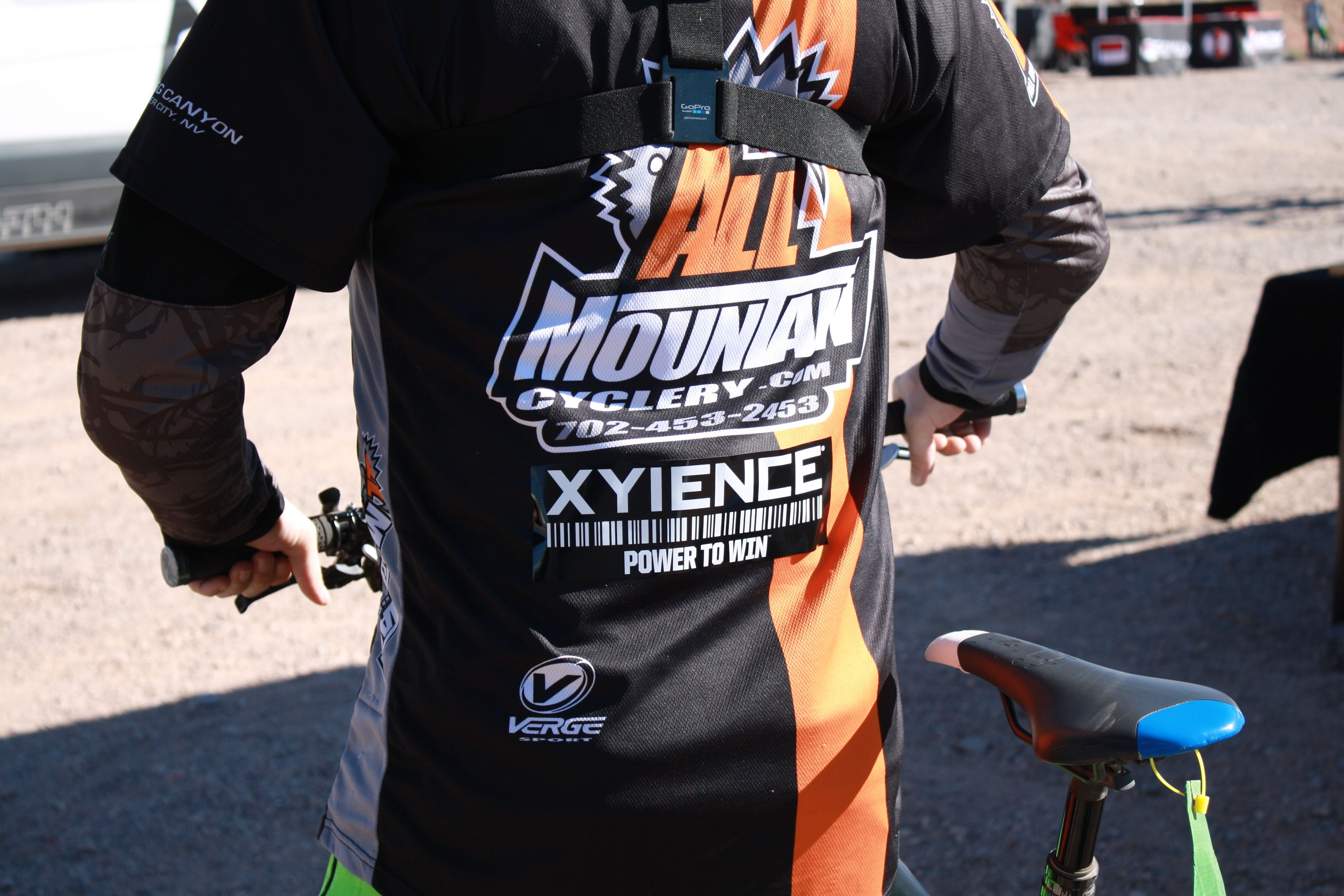 #Xyience at the #NV Downhill Championships!