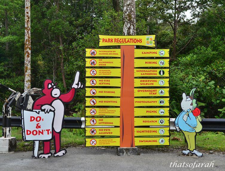 Matang Wildlife Centre Of Kubah National Park Wildlife Sarawak National Parks