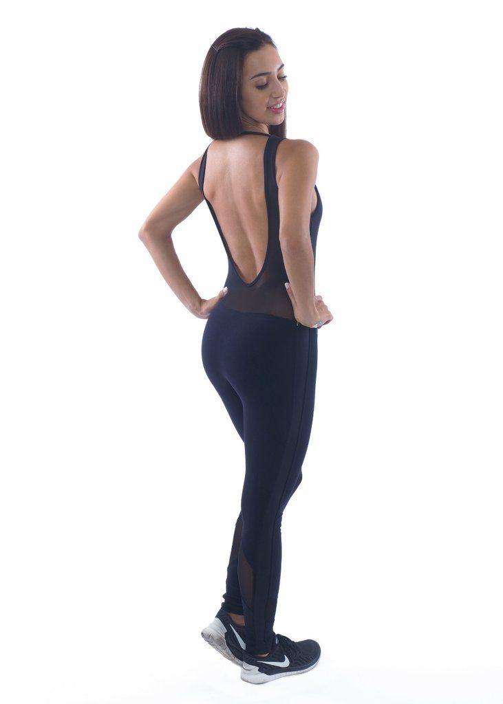 54dadaeabf27 Shama Jade Classic Luxury Jumpsuit  Black - Shama Jade
