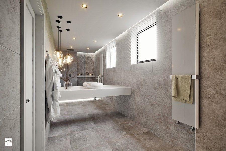 Łazienka styl minimalistyczny zdjęcie od DIUNA Projekty Wnętrz