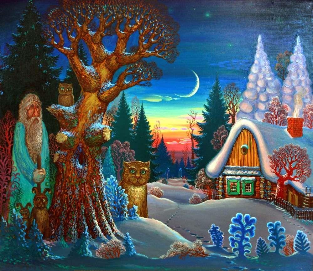 красивые картинки из зимних сказок