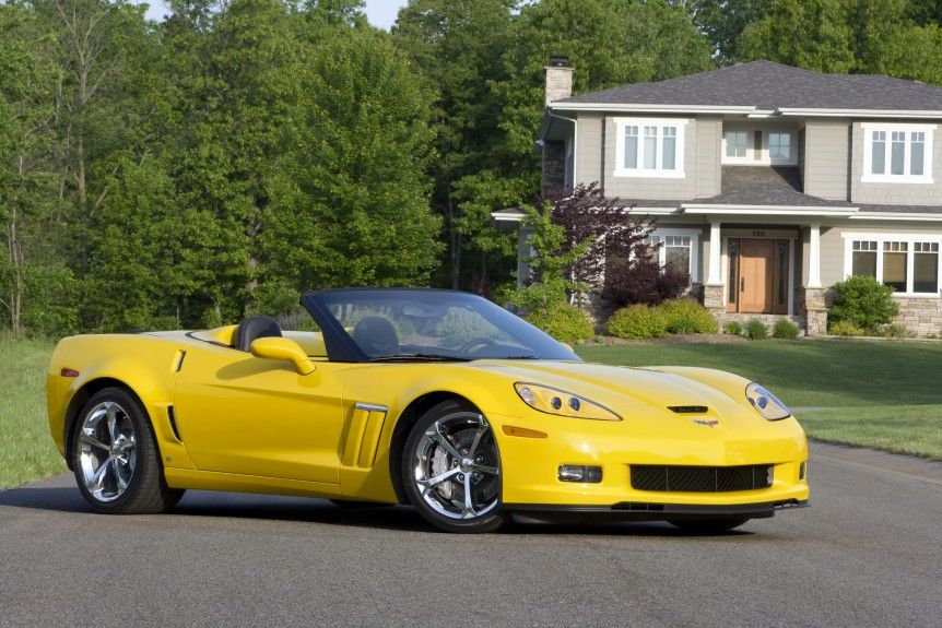 Summer Cool Down 5 Fly Drop Tops Corvette grand sport