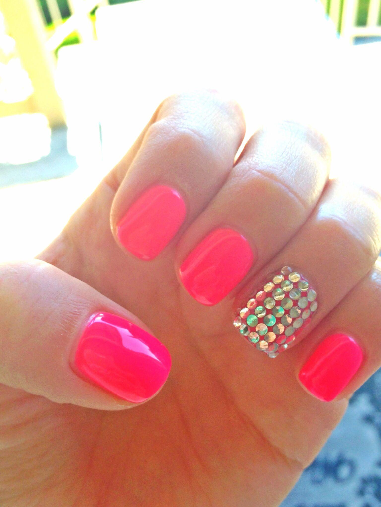 Pin By Dayna Anastacia On Nails Nails Nails Vegas Nails Pink Nails Pink Manicure
