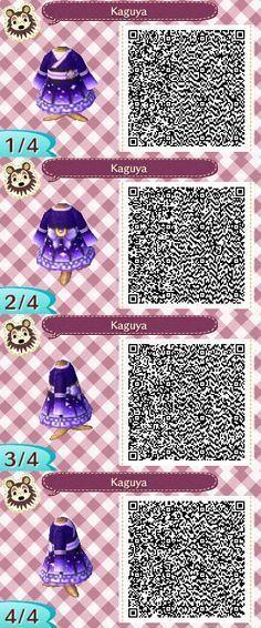 ACNL QR Code: Moon Kimono, #ACNL #animalcrossingqrcodeskimono #code #Kimono #Moon