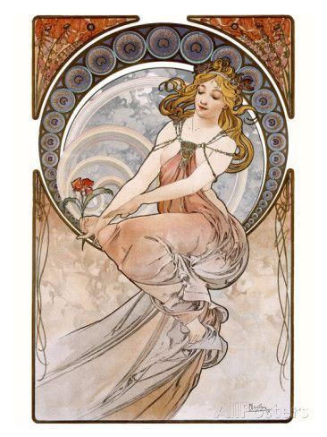 Painting Giclee Print by Alphonse Mucha