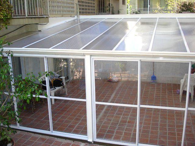 Ventanas de aluminio techos policarbonato vidrio chapa - Suelo de policarbonato ...