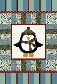 Check Out Our Free Chilly Penguin Quilt Pattern Using The
