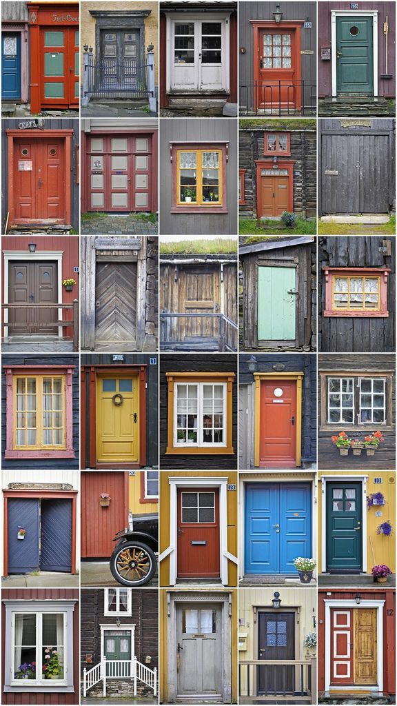 Doors of Norway | Angelo De Poli | Flickr