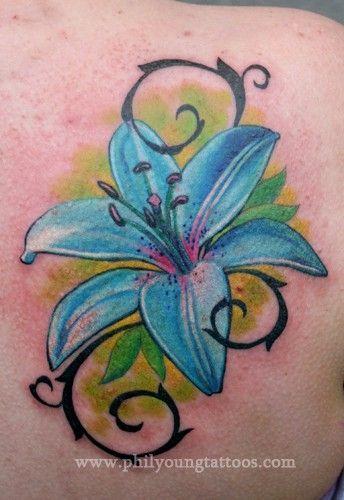 Lilium Idee Per Tatuaggi Disegno Floreale Tatuaggi