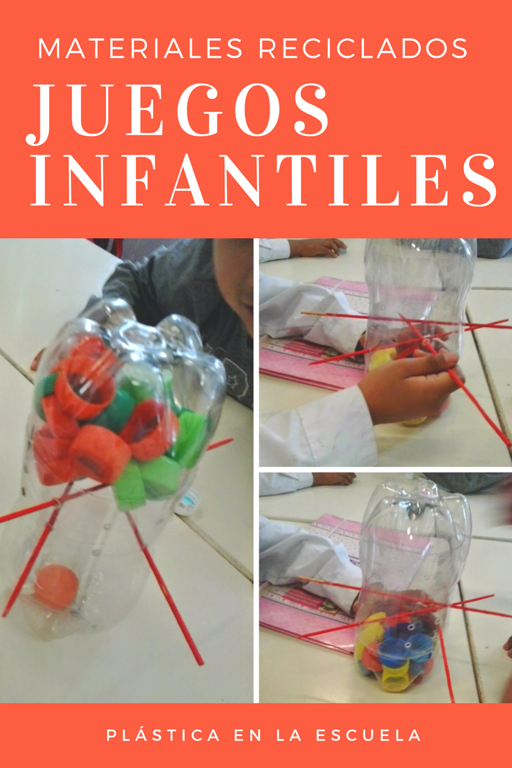 Juegos Con Materiales Reciclados Juego Con Botellas Y Tapitas