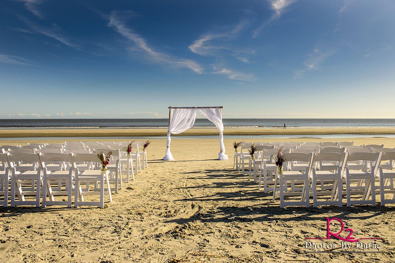 Beach Wedding Ceremony  Hilton Head Island South Carolina  Venue