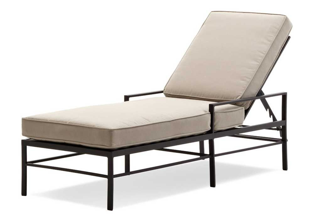 Strathwood Rhodes Chaise Lounge Chair For Outdoor