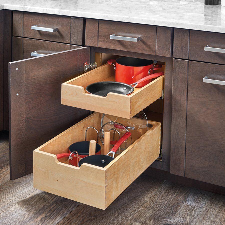 Standard Drawer For 24 Cabinet W Blum Slides 4wdb4 Pil 24sc 1 In 2021 Rev A Shelf Cabinets Organization Base Cabinets