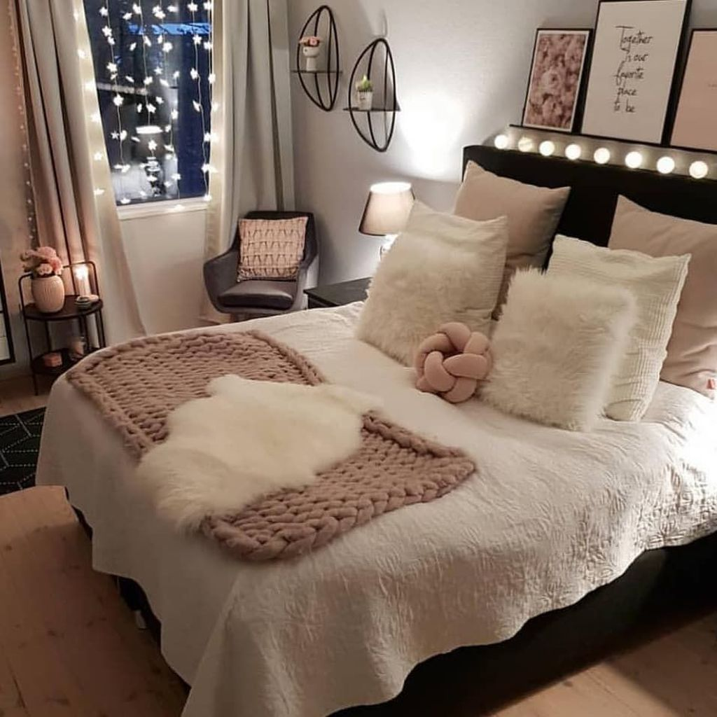 35 Best and Cute Small Apartment Decor Ideas for Girls - homimu.com