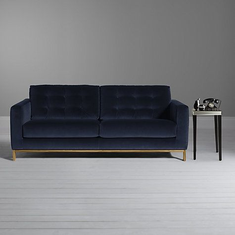 Furia Odyssey 3 Seater Sofa Marco Sapphire Blue Large Sofa Sofa Velvet Sofa