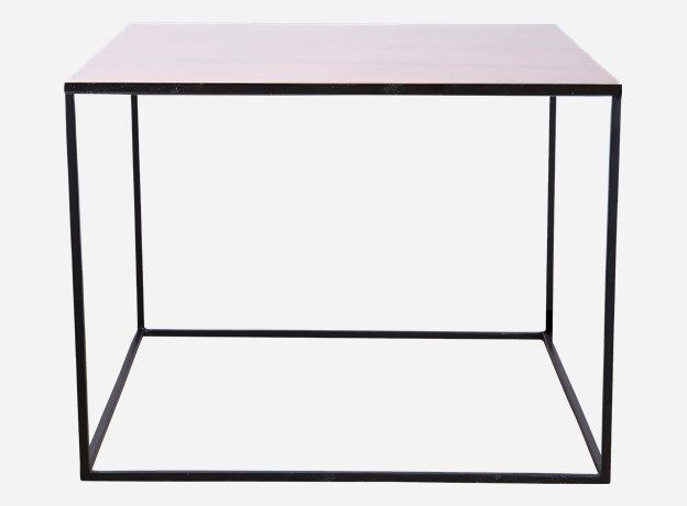 Nd0450 Bord Cube Kobber 60x60 Cm H 45 Cm Coffee Table