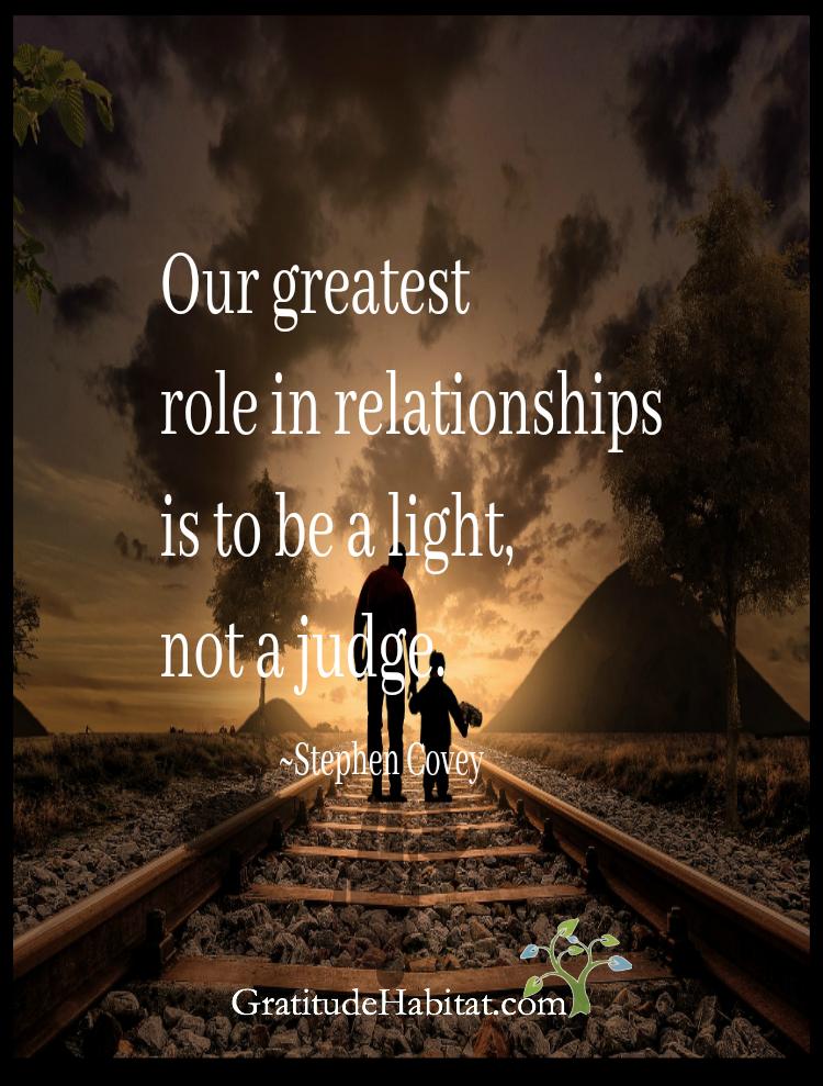 You are the light  Visit us at: www GratitudeHabitat com | Quotes