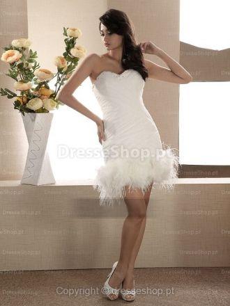 Maud-Vestido de Noiva em organza