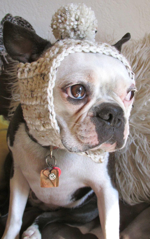 Dog Hat Oatmeal Tweed Etsy Dog Hat Dog Clothes Crochet Dog