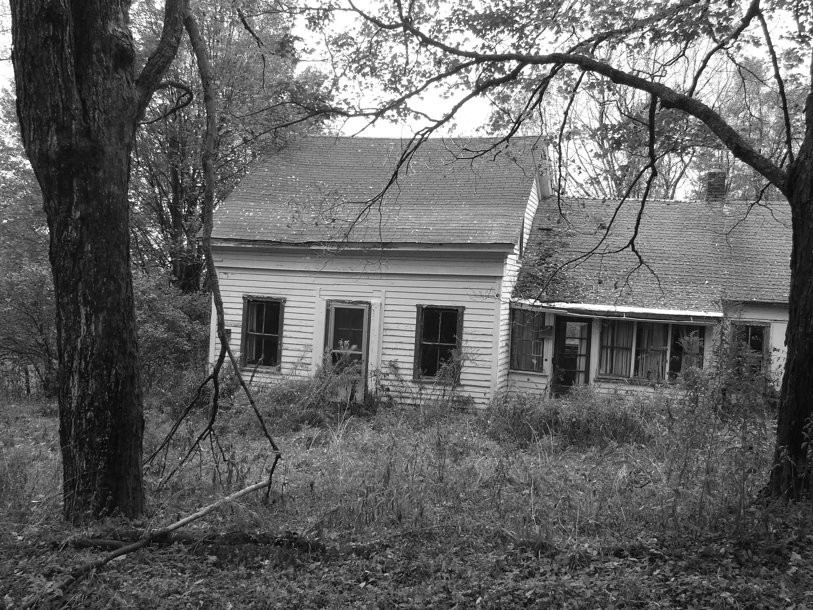 Abandoned house outside of New Berlin, NY.  Photo by Deanna.