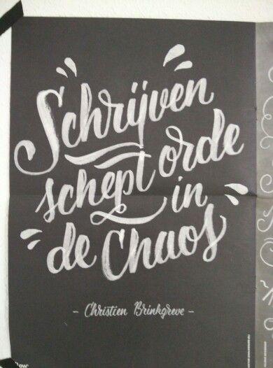 Schrijf quote