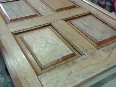 Restaurar puertas antiguas de madera youtube art for Como restaurar una puerta antigua de madera