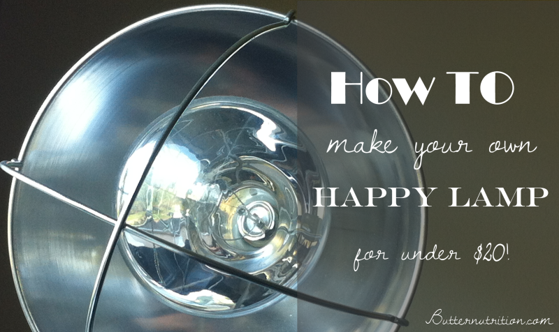 How To Make Your Own Happy Lamp For Light Therapy Happy