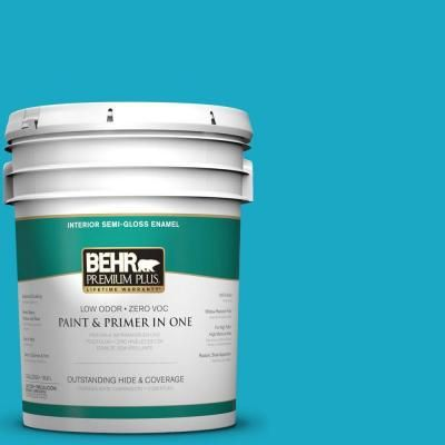 Behr High Dive P480 5 For Accent Color In Closet And Background On Built In Bookshelves Interior Paint Exterior Paint Behr Ultra