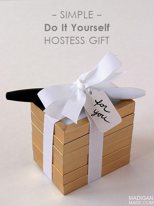 Elegant diy hostess gift mini name card signs great easy gift elegant diy hostess gift mini name card signs solutioingenieria Choice Image
