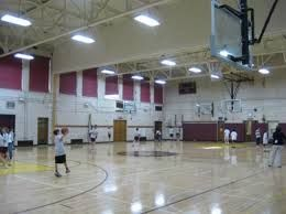 T 5 Fluorescent Gymfixture Is The Perfect Solution For Any Sports Facility Gym Lighting Indoor Basketball Court Indoor Lighting Fixtures