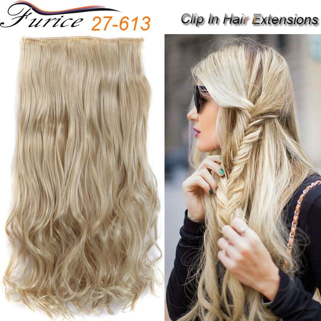 5 Clip Curly Hair Extensions Factory Cheap Price 65cm 120g Curly Mix