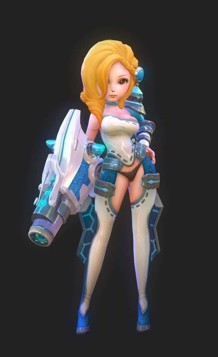 Babygunner, B ge on ArtStation at https://www.artstation.com/artwork/wOaZX
