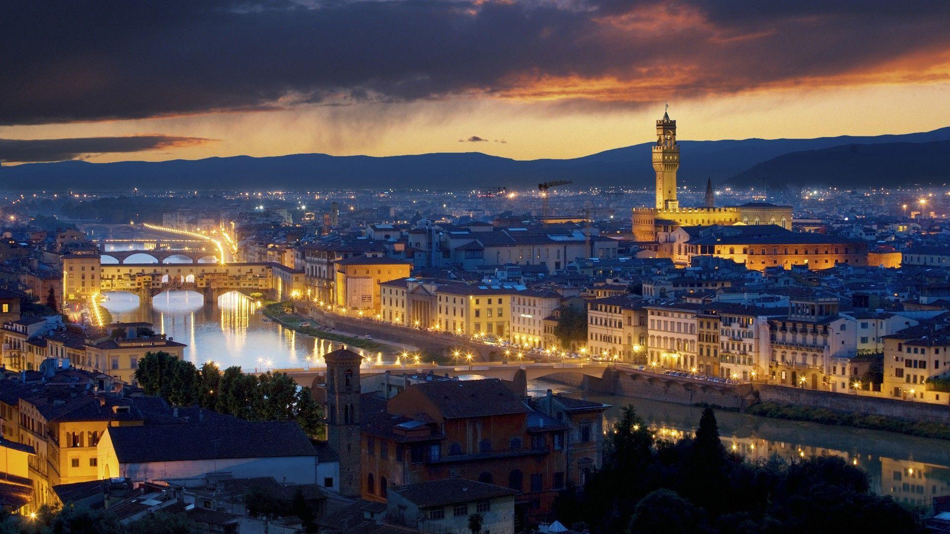 Italy At Night Wallpapers Hd Wallpaper Italy Night