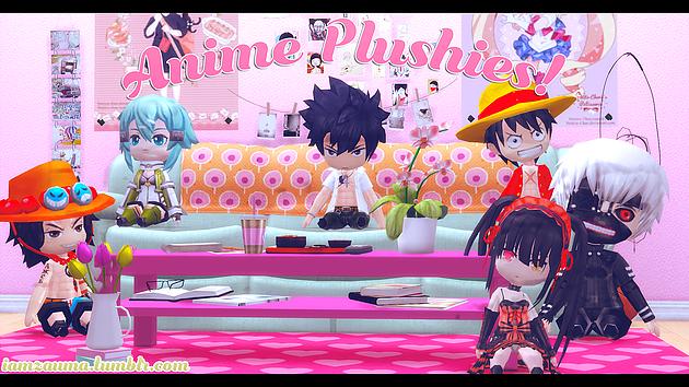 [TS4] Anime Plushies Sims 4 anime, Sims, Sims 4 mods