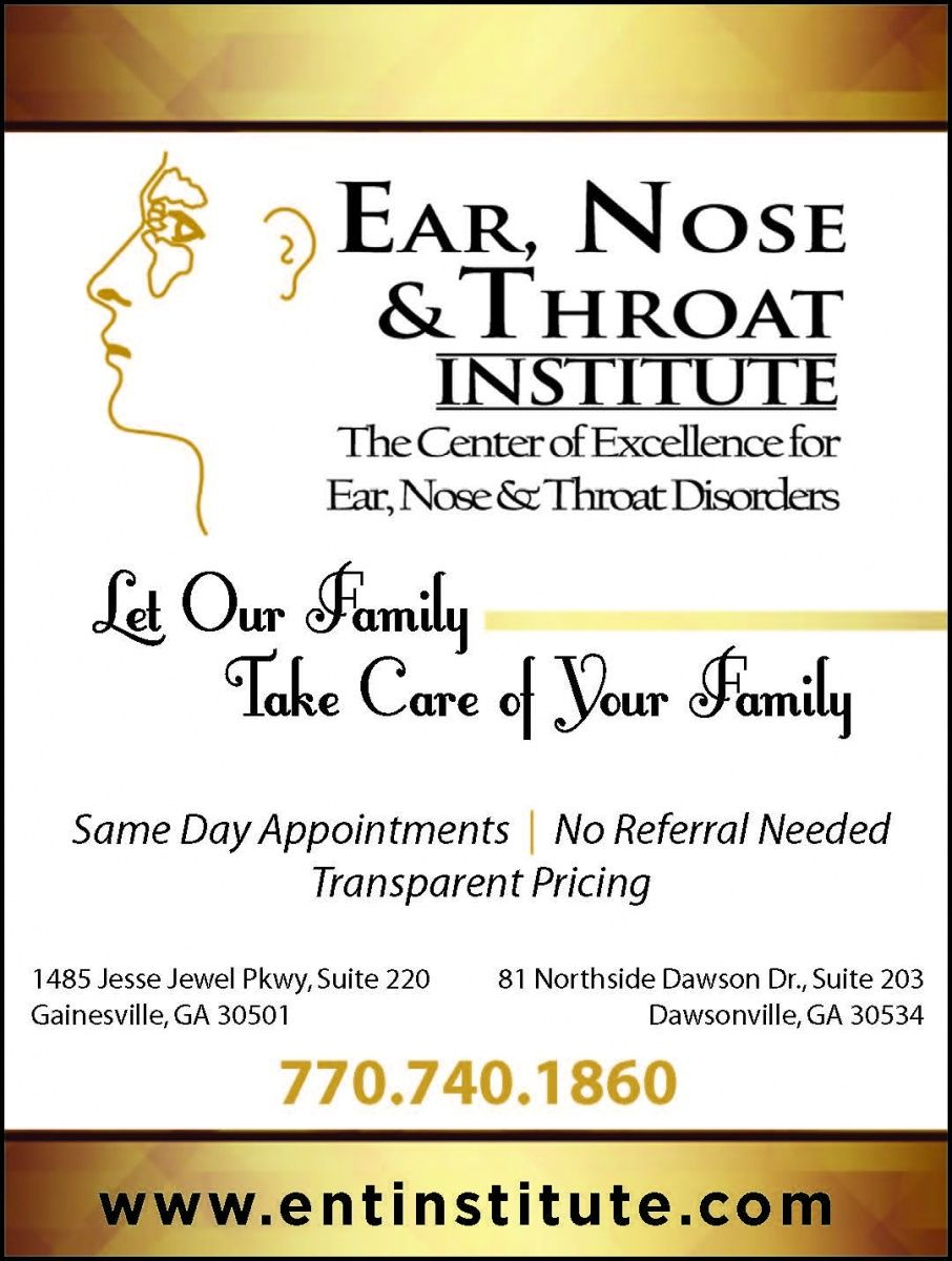 The Center Of Excellence For Ear Nose Throat Disorders Let Our