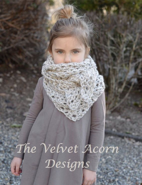 CROCHET PATTERN-The Doven Shawl Small Medium and Large | Crochet y ...