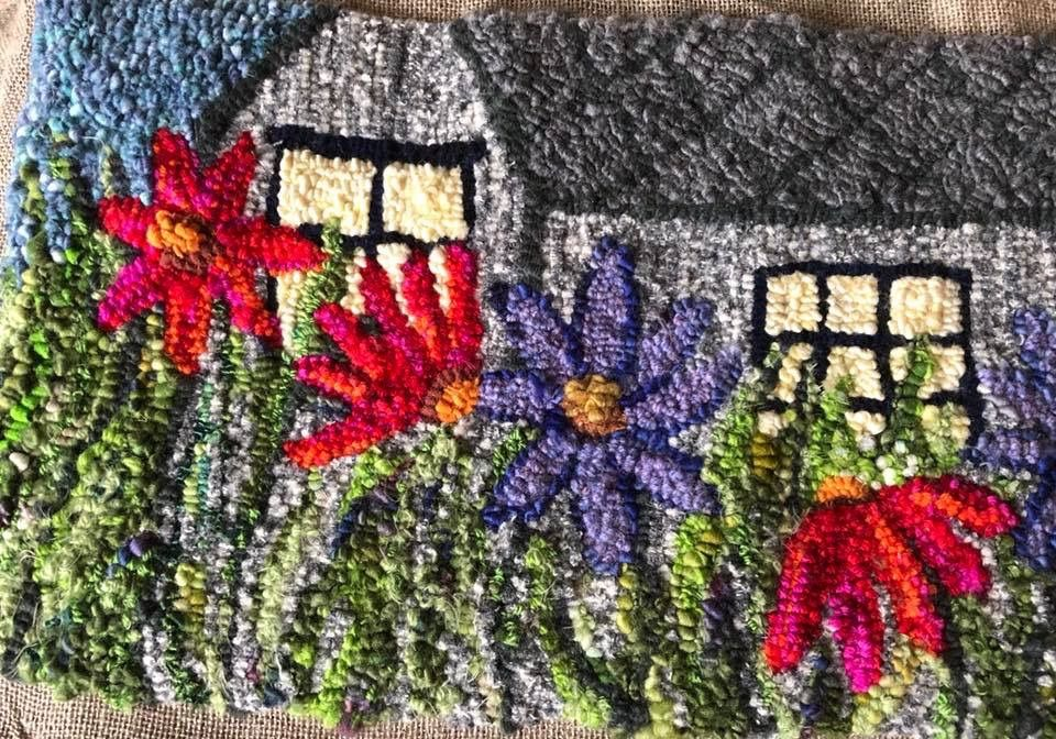 Pin about Rug hooking, Rugs and Wool on Wild with wool