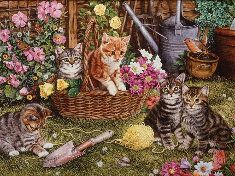 Kittens 275 Piece Easy Handling Puzzle James Bay New Horizons