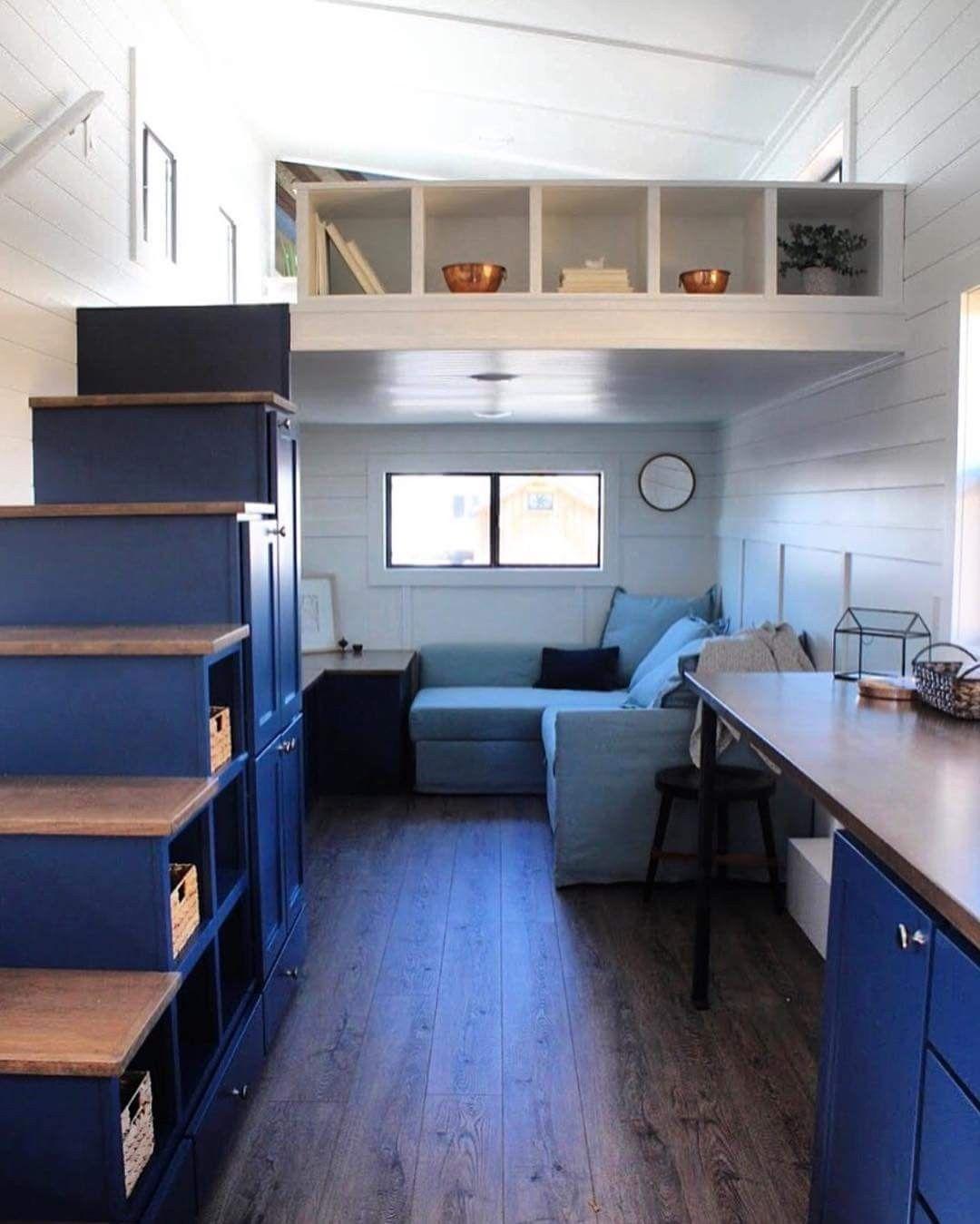 More head room in loft | Tiny house loft