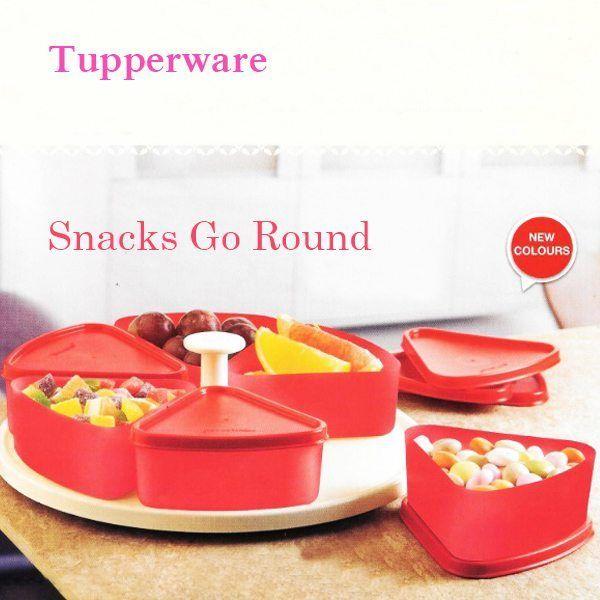 Tupperware Snacks Go Round Tupperware