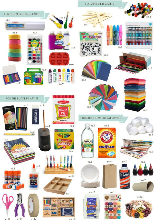 MustHave Art Supplies (Hellobee) Arts, crafts supplies