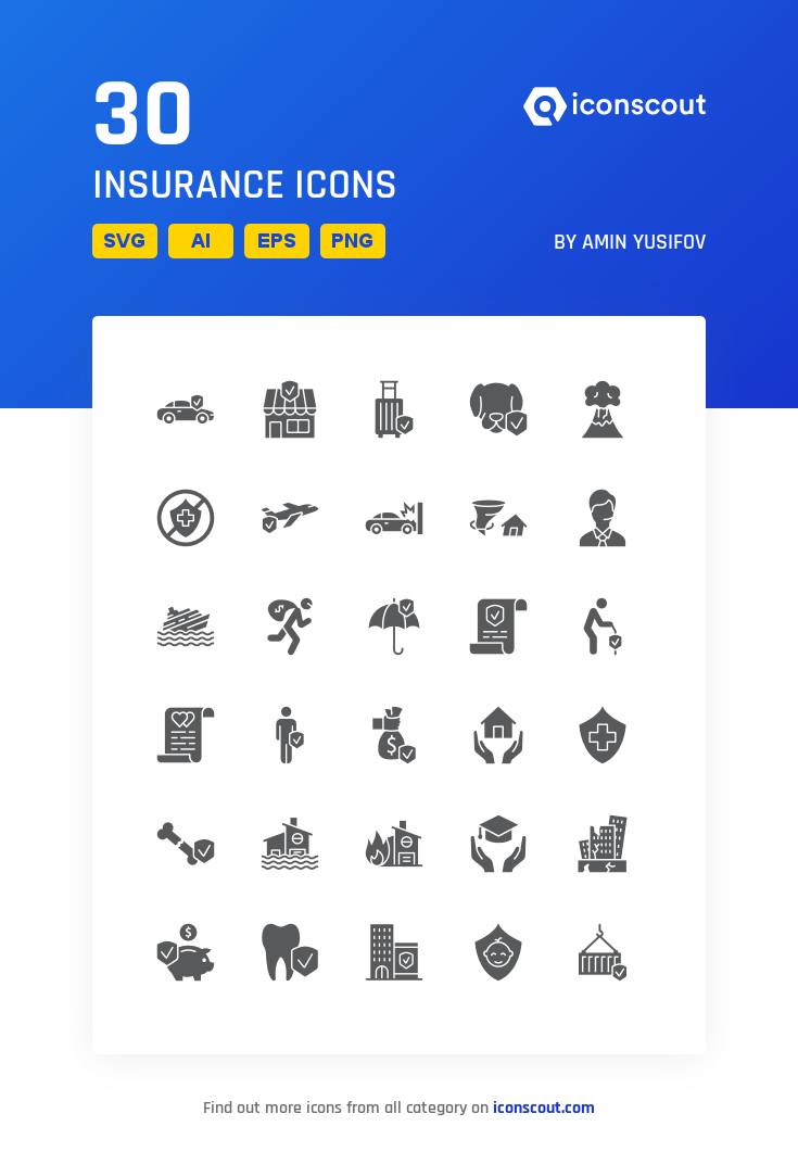 Download Insurance Icon Pack Available In Svg Png Eps Ai Icon Fonts Icon Pack Icon Font Icon