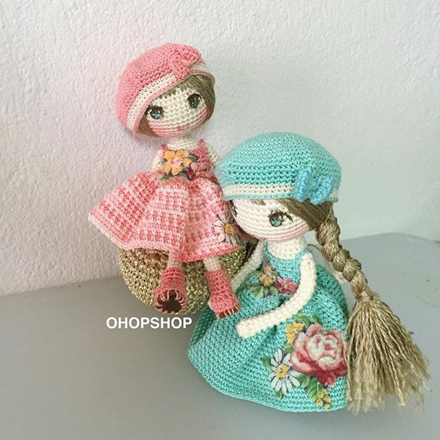 Pin de Kindabam Crochet en Crochet Doll | Pinterest | Muñecas ...
